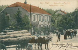 57  VALLERYSTHAL  / Restauration Z. Augustiner  / BELLE CARTE COULEUR RARE - Autres Communes