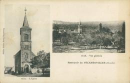 57  VECKERSVILLER / église Vue Générale / - Autres Communes