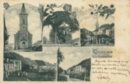 57  VECKERSVILLER  / Multi Vues /  CARTE RARE 1902 - Autres Communes