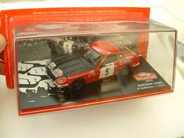 DATSUN 240Z - RALLYE DE MONTE CARLO 1972 - AALTONEN / TODT - ALTAYA IXO - 1/43éme - Ixo