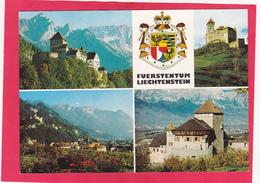 Modern Multi View Post Card Of Liechtenstein ,L44. - Liechtenstein