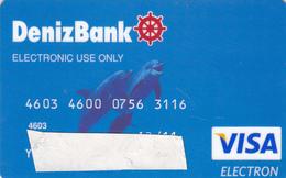 Türkey  Bank Card - Geldkarten (Ablauf Min. 10 Jahre)