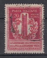 ITALIË - Michel - 1949 - Nr 784 - Gest/Obl/Us - 6. 1946-.. Repubblica
