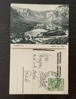 DOPISNICA   BOHINJ    SLOVENIA   1957. - Storia Postale