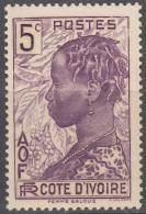 N° 112 - X X - ( C 1530 ) - Ivory Coast (1892-1944)