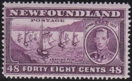 Newfoundlans    .    SG   .      267c         .     *       .     Ongebruikt    .    /      .     Mint-hinged - Newfoundland
