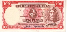 Uruguay P.43 100 Pesos 1939 A-unc - Uruguay
