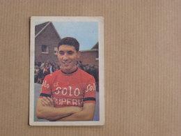 EDDY MERCKX Belgique België Cyclisme Cycliste Coureur Vélo Racing Cyclist Wielrenner Chromo Trading Card Vignette - Autres