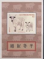 MICRONESIE  1997 ANNEE DU BUFFLE  YVERT N°B25  NEUF MNH** - Chinese New Year