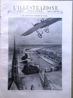 L'illustrazione Italiana 13 Settembre 1914 WW1 Papa Benedetto XV Parigi Belgio - Guerre 1914-18