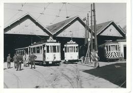 WOLUWE : Photo Dépôt Du TRAM - Réouverture Musée AMUTRA - 03/1972 - Vervoer (openbaar)