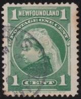 Newfoundlans    .    SG   .    85      .       O      .     Gebruikt   .    /      .        Cancelled - 1865-1902