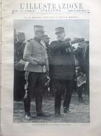 L'illustrazione Italiana 20 Settembre 1914 WW1 Ritirata Tedeschi Russia Carpazi - Guerra 1914-18