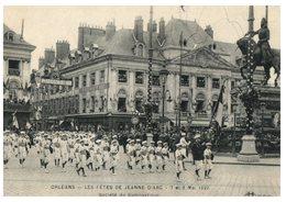 (ORL 148) Very Old Postcard - France - Orléans Fêtes De Jeanne D'Arc / Joan Of Arc Festrivities (around 1900) - Beroemde Vrouwen