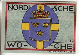 Gutschein Lubeck 1921 - 50 Heller - 2 Scans Recto-verso - Oesterreich