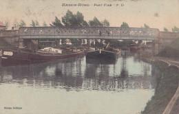 Bassin-Rond Pont Fixe Circulée En 1911 - Valenciennes
