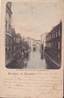 Souvenir De Bruxelles La Senne Vue De La Rue Des Mécaniciens Nels Série 1 N° 68 Circulée En 1900 !!!! - Maritime