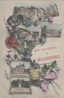 Malesherbes 45 -  Bon Souvenir - Editeur Bassin - 1908 - Malesherbes