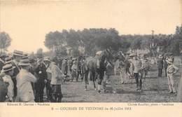 41-VENDOME- COURSES DE VENDOME DU 16 JUILLET 1911 - Vendome