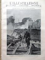 L'illustrazione Italiana 18 Ottobre 1914 WW1 Anversa Carlo Romania Mar Adriatico - Guerre 1914-18