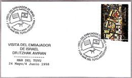 Visita Del Embajador De ISRAEL - Visit Of The Ambassador Of Israel. Mar Del Tuyu, Argentina, 1998 - Judaísmo