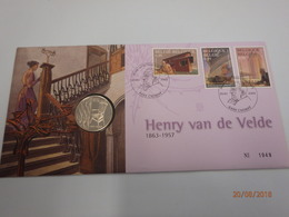 Numisletter 2003 Henry Van De Velde 3146-3148 - Numisletters