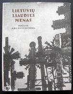 1990 LITHUANIAN FOLK ART LIETUVIŲ LIAUDIES MENAS / ALBUM - Books, Magazines, Comics