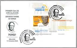 125 Aniv. PICASSO. SPD/FDC. Malaga, Andalucia, 2006 - Picasso