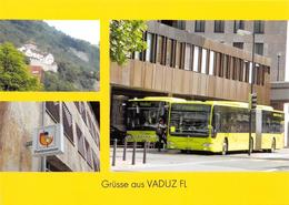 Vaduz  3 Bild   Postauto Limitierte Auflage! - Liechtenstein