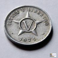 Cuba - 5 Centavos - 1971 - Cuba