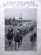 L'illustrazione Italiana 8 Novembre 1914 WW1 Fiandre Theodosia Turchia Cosacchi - Guerre 1914-18