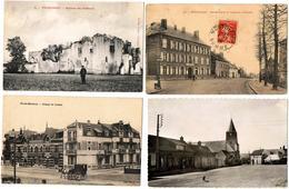 Lot 10 CP  Somme / Montdidier, Belloy, Picquigny, Guyencourt, Damery, Chaulnes ... / A Voir !!! - Postcards