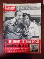 """Revue """"le Soir Illustré"""" N° 1366 / Tino Rossi - Expo 58 De A à Z - Congo Commandos Noirs... - General Issues"""