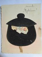 """Carte à Système Dépliant Originale Et Unique """"Fait Maison"""" -  """"Marmite Mystérieuse"""" - BE - Mechanical"""