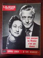 """Revue """"le Soir Illustré"""" N° 1369 / Les Windsor - Sophia Loren - Onassis - Anna Magnani - Victor Francen... - General Issues"""
