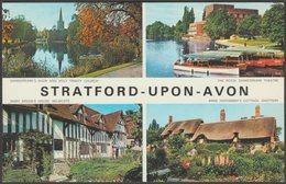 Multiview, Stratford-upon-Avon, Warwickshire, C.1970s - Jarrold Postcard - Stratford Upon Avon