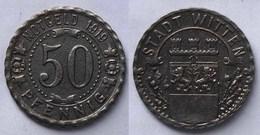 Witten 50 Pfennig Notgeld 1919 Eisen   (21956 - [ 2] 1871-1918: Deutsches Kaiserreich