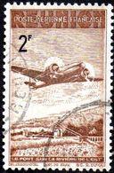 Réunion Obl. N° PA 12 - Avion Survolant Le Pont De L'Est 2f - Réunion (1852-1975)