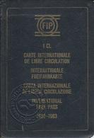 Portugal. Railway Booklet Ticket Card -  Carte De Circulation 1997 - Railway