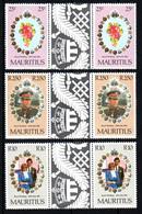 MAURITIUS  Mariage Prince Charles Lady Diana  Neufs Sans Charnière N° Yv  528 / 530 Maurice - Maurice (1968-...)