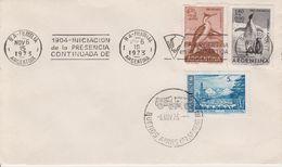 Argentina 1973 Iniciacon De La Presencia Continuada De La Argentina En Antartida Cover Ca 15 Nov 73 (40157) - Zonder Classificatie