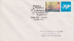 Argentina 1976 Muestra Filatelica Semana De La Antartida Argentina Cover (40160) - Zonder Classificatie