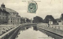 10 - Troyes Quai De Dampierre Et Cirque - Canal - Troyes