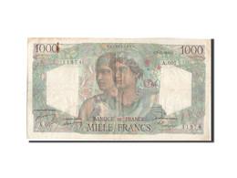 Billet, France, 1000 Francs, 1 000 F 1945-1950 ''Minerve Et Hercule'', 1949 - 1871-1952 Anciens Francs Circulés Au XXème