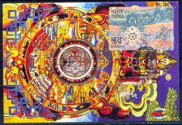 RELIGIONS-BUDDHISM- 2550 YEARS OF MAHAPARINIRVANA -MAXIMUM CARD #2- INDIA-2007- MC-64 - Buddhism
