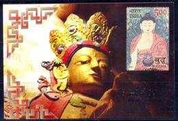 RELIGIONS-BUDDHISM- 2550 YEARS OF MAHAPARINIRVANA -MAXIMUM CARD #4- INDIA-2007- MC-64 - Buddhism