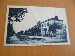 CPA 30 Gard Manduel La Gare  TBE - Otros Municipios