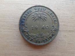 Britich  West Africa  1  Shilling  1940  Km 23 - Colonie Britannique
