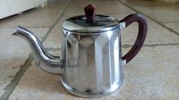 THEIERE En INOX & BAKELITE - Vintage - Rutilante Chrome !!! - Teapots