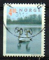 NORVEGE. N°1264 Oblitéré De 1999. Cygnes. - Swans